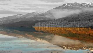 Reflection on loch long