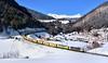 AlphaTrains/TX Logistik 193 554 + 193 552 St. Jodok (tobias.unsin) Tags: railway rail railroad locomotive lok logistik tx train txl alps austria winter sunshine snow