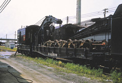 CB&Q 206790 (Chuck Zeiler) Tags: cbq 206790 mow railroad lincoln train flatcar flat car marshallpochay chz