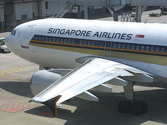 9V-STZ, Singapore Changi, March 21st 2003 (Southsea_Matt) Tags: 9vstz msn654 airbus a310324 singaporeairlines staralliance wsss sin changi singapore march 2003 spring canon d30 sigma 170500mm airplane airport aviation aircraft plane