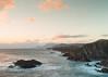 Achill Island (Kieran Culleton) Tags: ireland beach seascape sunset sun orange 5d 1740 rock boulder abandoned house sea water waves ocean cliff cliffedge lastlight magic hour green landscape mountains slow shutter longexposure