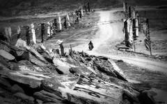 The Buddha Calls (ZeePack) Tags: landscape hill extremeterrain mountainpeak valley rock ridge cliff buddhist manistones tibetan spiti india rider motorcycle himachalpradesh canon prayer prayerflags flags monochrome blackandwhite kunzumla 5dmarkiii milestoneenterprise milestoneenterprisein
