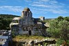 Church of Vlacherna (orientalizing) Tags: 12thcenturyad abandoned byzantine church churchofvlacherna greece mani mezapos ruins