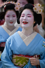 Fine (byzanceblue) Tags: 京都 gion maiko japan kyoto japanese dance woman girl female cute lovely beautiful beauty 舞妓 舞踊 geisha kimono traditional geiko kanzashi formal 祇園 black 花街 white color colour flower nikkor background people photo d850 portrait professional lady lovery 芸妓 着物 bokeh 節分 red traditonal gionhigashi 祇園東 平安神宮 奉納舞