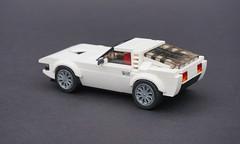Lego 1971 Alfa Romeo Montreal - 02 (Jonathan Ẹlliott) Tags: alfaromeo montreal alfaromeomontreal lego legomoc vehicle car