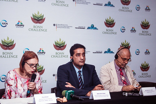 Bonn Challenge 3.0 High level meeting. Press conference.