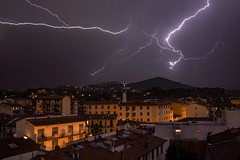 Lightening storm in Florence, Italy. (Mark240590) Tags: nikon landscape nature weather love europe holiday tuscany florence italy