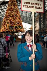 Tokyo Disneyland 2017 70 - For Safety Please Walk (JUNEAU BISCUITS) Tags: hawaiiphotographer tokyodisneyland tokyodisney disney disneyresort disneyparks themepark japan christmas christmastree castmember waltdisney worldbazaar