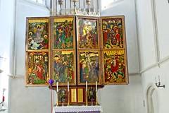 Maria. Laach. Flügelaltar, 1480 - Gotik (alexander.szep) Tags: maria laach