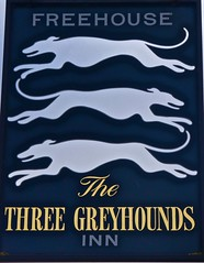 The Three Greyhounds - Allostock, Cheshire. (garstonian11) Tags: pubs cheshire pubsigns realale allostock gbg2018 camra