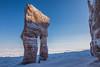 Qalliujaak (Clare Kines Photography) Tags: arctic nunavut arcticbay qalliujaak north admiraltyinlet giantpants sauniqsiutit travis family seaice canada ice rock formation rockformation