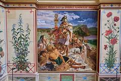 Roman at Hadrian's Wall (GATACA1952) Tags: art craglough hadrianswall mural oilpainting painting preraphaelite romancenturion williambellscott wallington nationaltrust listedbuilding historical statelyhome northumberland