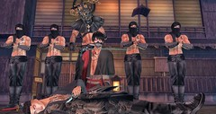 Neo-Japan Event Photo Contest 1 - Brian2 Werefox (brian.werefox) Tags: findyours neo japan sl {maru kado} signature gb dappa nc not found the forge twc ktarsis modulus ninja fight samourai brother death rules