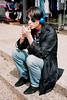 Blue vibes on the streets of Ra'anana (STREET FASHION by Shay Segev) Tags: blue streetwear streetfashion street streetportrait streetstyle style shaysegev spontaneous streetphoto segev shay streetphotography streetphotographer sunglasses cigarette headphones