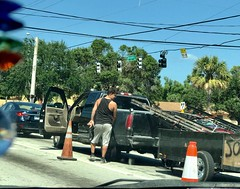 In traffic (LarryJay99 ) Tags: butts bottoms bulges hunk hunkyman men male man guy guys dude dudes manly virile studly stud masculine sexyman people street urban traffic westpalmbeach florida hotguy bubba bubblebutt