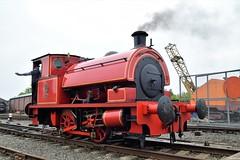 "DSC_0036 (richellis1978) Tags: chasewater railway gala steam train loco locomotive kent no2 no 2 w g bagnall 040st ""kent 2842 1946"