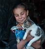 Romani Girl and her Cat (judepics) Tags: albania cat gatto girl gypsy ll romani