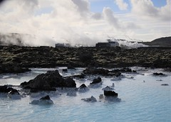 Blue Lagoon (Ian@NZFlickr) Tags: blue lagoon iceland geothermal heating water