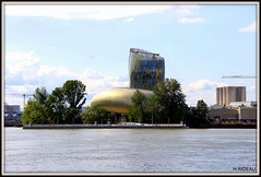 La Cité du Vin à BORDEAUX. (Les photos de LN) Tags: citéduvin bordeaux gironde aquitaine monument architecture garonne fleuve estuaire portdelalune rive berge musée