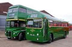RML2456 & RF539 (keith-v) Tags: aec routemaster regal iv london transport rml2456 rf539