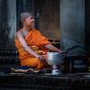 Angkor Wat (Peter Silvan) Tags: angkorwat siemreap cambodia monk orange temple wat