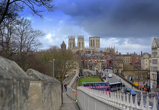 Views from the walls at York
