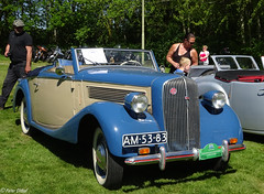 1938 Opel Super 6 Cabriolet (peterolthof) Tags: peterolthof klazienaveen oldtimerdag 652018 am5383