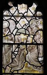 Childrey, Berkshire (modern Oxon) (Vitrearum (A B Barton)) Tags: apostles stainedglass ascension childrey oxfordshire medieval church berkshire