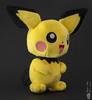 Pichu (Philippe Bélaz) Tags: pichu jaune lumièresnaturelles manga noir objets packshot peluches personnage pikachu studio