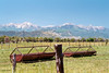 La Plata Mountains from South of Durango, Colorado (StevenM_61) Tags: landscape scenery field mountainrange mountains farmmachinery durango colorado
