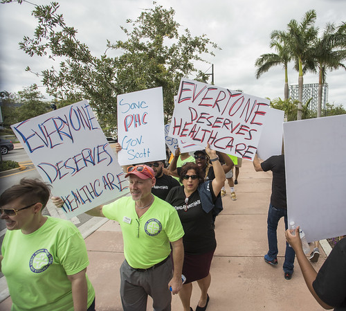 Miami Dade Medicaid Cuts Protest - April 11th, 2018