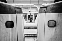 Rush Hour (*Chris van Dolleweerd*) Tags: street streetphotography urban train station woman girl chrisvandolleweerd