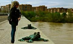 Mirando al Ebro (portalealba) Tags: ranillas zaragoza ebro aragón españa spain portalealba canon eos agua