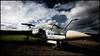 Blackburn Buccaneer (G. Postlethwaite esq.) Tags: airmuseum blackburnbuccaneer canon40d newark sigma1020 aircraft clouds grass gravel sky sliderssunday hss refuellingprobe