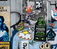 streetart (wojofoto) Tags: amsterdam nederland netherland holland graffiti streetart wojofoto wolfgangjosten pasteup stickers stickerart sticker wojo
