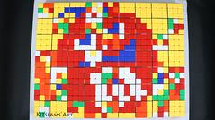 Rubik's Cube Mosaic of Red M&M (Kitslams Art) Tags: rubikscubeart rubikscube rubikscubedrawing drawingrubikscube rubiksdrawing drawingrubiks rubixdrawing rubix drawingrubix rubixcube twistypuzzle puzzle mindgame puzzleart artwithrubikscube rubikscubemosaics rubikscubeartist twistypuzzlephone artistusesrubikscubes pixelartwithrubikscubes rubikscubepixelart 8bitart 8bit foodart foodartist pixelartwithfood 8bitpixelart diyfoodart foodarts kitslamsart nerdart geekart geek nerd iq mind cartoon funforkids artforkids kidsart creativeart creative whoa awesome fun cute puzzles collection 3x3x3 arts