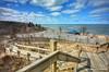 Weko Beach Park (mswan777) Tags: blue sky cloud water wave horizon shore coast seascape beach sand park dune grass lake michigan bridgman nikon d5100 sigma 1020mm stair wood deck