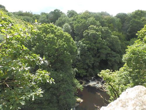 Edge of O'Cahan's Rock