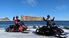 Percé Rock (Mariko Ishikawa) Tags: canada quebec quebecmaritime percé perce rock landmark snowmobile