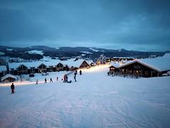 Base of Turistsenter (A. Wee) Tags: 特利西尔 trysil norway 挪威 turistsenter skiresort 滑雪场