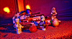 Heroes Never Rest (Happy Easter) (BrickSev) Tags: lego star wars happy easter eggs clone troopers starwars clonetroopers minifigures minifigure captain rex captainrex clonepilot republic tank photography legophotography toy toys toyphotography