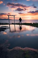 Punta Estofallas (jojesari) Tags: ar11718g 618 puntaestofallas puntafaxilda sanxenxo pontevedra galicia autorretrato selfie ocaso sunset atardecer puestadesol solpor jojesari suso