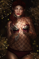 W I S H E S (Lightrona) Tags: dirty princess kinky event pose fair spellbound elise