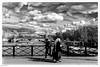 Paris, contrastes printaniers (laurentcornu) Tags: cityscape streetphoto france laseine bw blackandwhite paris