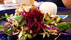 Northwest, Massey, West Auckland, New Zealand (Sandy Austin) Tags: panasoniclumixdmcfz70 sandyaustin massey westauckland auckland northisland newzealand northwest casablanca salad food cherkez chicken tarator nongmosansogm