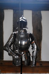 Armoured guard (zawtowers) Tags: ruffordoldhall rufford lancashire national trust property hesketh family residence gradei listed building built 1530 historic house great hall oldest part dating back 16th century tudor era armour guard metal outfit protection costume