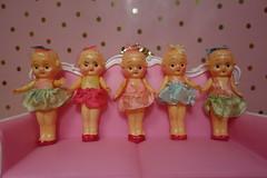 Antique shopping find!!! (Primrose Princess) Tags: vintage retro kewpie doll celluloid pink princess dollies kewpiedoll barbie blythe ballerina