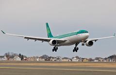 Irish approach (jp.marottta) Tags: eiduz aerlingus shamrock a330300 staoife airbusintheus nikond90 dublin ei spotter spotting spotters boston bos kbos rwy27