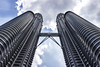 High Rise (Thomas Rotte) Tags: high rise kuala lumpur malaysia petronas twin towers klcc sky building skyscraper tall cloud architecture abstract lines symetry
