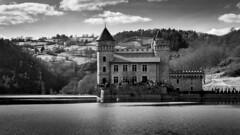 Le château en noir et blanc (S@ndrine Néel) Tags: château chateaudelaroche loire néelsandrine
